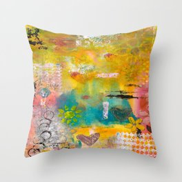 Summer Afternoons Throw Pillow