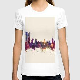 Madrid Spain Skyline T-shirt