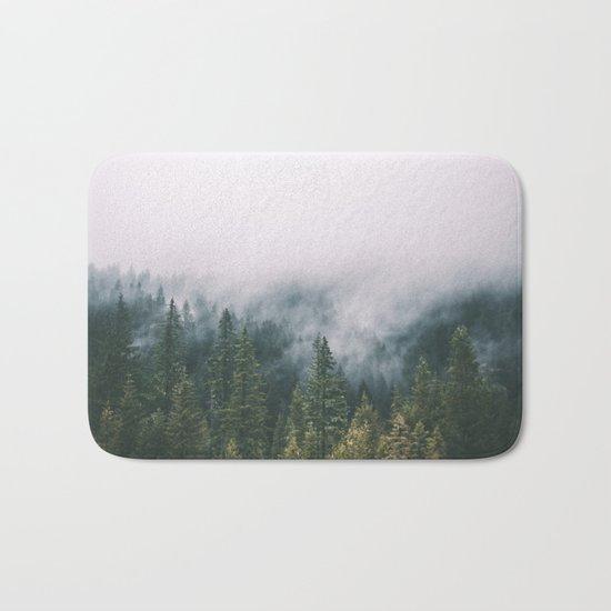 Forest Fog XI Bath Mat