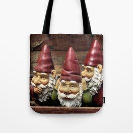 Three Gnomes Tote Bag