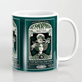 Metamorphosis by The Wolf Man: A Full Service Hair Salon (Vintage) Coffee Mug