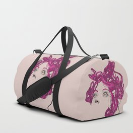 pink bunny lady Duffle Bag