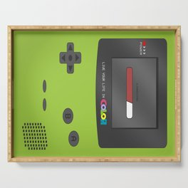 Gameboy Color (green) Serving Tray