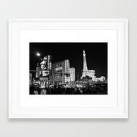 sin city Framed Art Prints featuring Sin City by Bryan