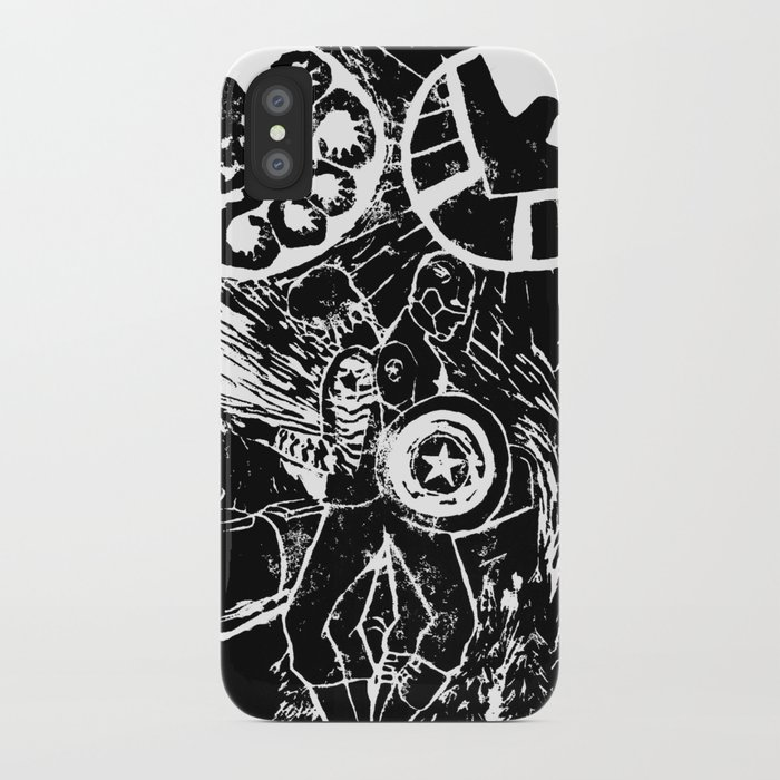 new product 94a41 11533 Captain America:The Winter Soldier print design iPhone Case by chalenmimi