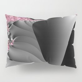 Black and white with embellishments Pillow Sham