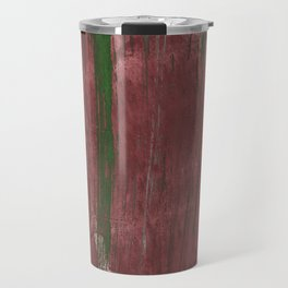 Burgundy Green Travel Mug