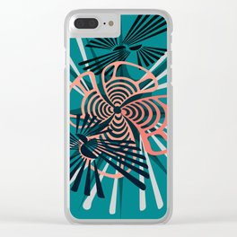 In Motion Emotion Clear iPhone Case
