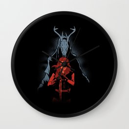 The LARP Queen Wall Clock