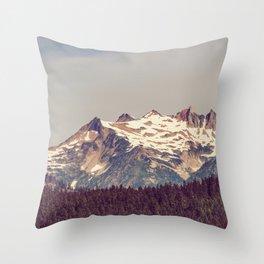 Vintage Cascades Throw Pillow