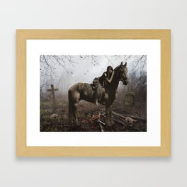 Land Of The Lost Framed Art Print
