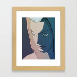 Violet Boy Framed Art Print