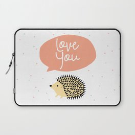 Hedgegog love Laptop Sleeve