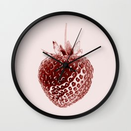 Juicy Strawberry Wall Clock