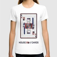 house of cards T-shirts featuring House of cards Playing card  by Lewys Williams