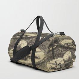 Viking armor Duffle Bag