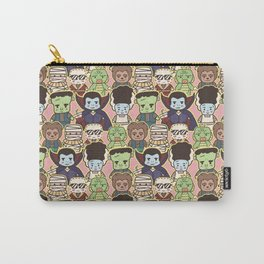 Kawaii Little Monsters Series 1 Pattern Print Carry-All Pouch