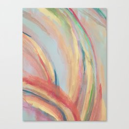 Inside the Rainbow Canvas Print