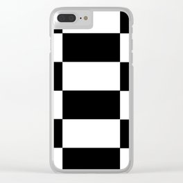 Checkered Clear iPhone Case