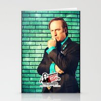 better call saul Stationery Cards featuring BREAKING BAD - Better Call Saul - for iphone by Vertigo