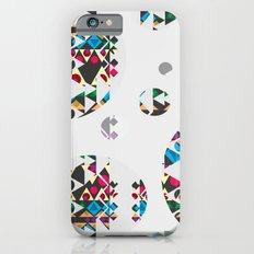 Basic Shapes Pattern 3 - Circles iPhone 6s Slim Case