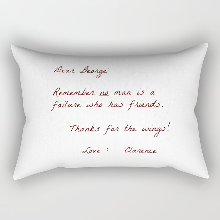 Dear George Rectangular Pillow
