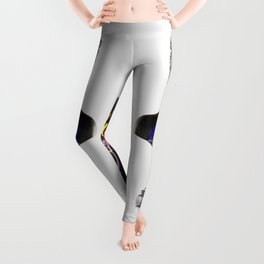 The Girl With Stars In Her Eyes (On White) Leggings