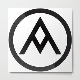 Soong Design Symbol Metal Print