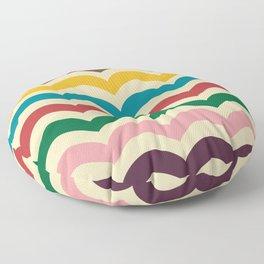 sweet summer waves Floor Pillow