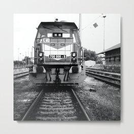 Abandoned Train  Metal Print