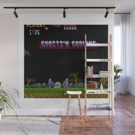 Ghosts 'n Goblins Wall Mural