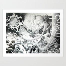 BacktoSun Art Print