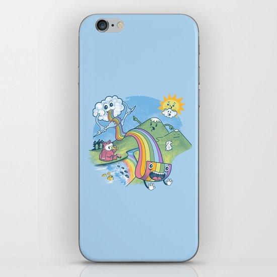 Rainbow Pasta iPhone & iPod Skin