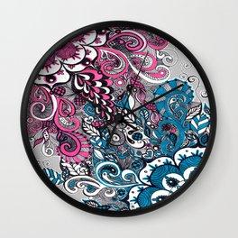 Beautiful struggle Wall Clock