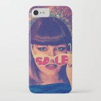 sale iPhone & iPod Cases featuring Sale! by Serra Kiziltas