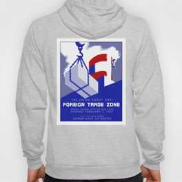 New York Foreign Trade Zone port authority Hoody