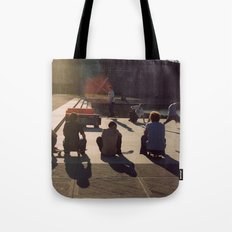 Us and Them Tote Bag