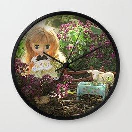 Mary had a little lamb Wall Clock