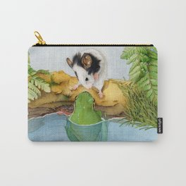 The mouse and the frog Carry-All Pouch