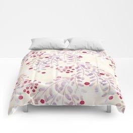 Delicate sprigs 2 Comforters