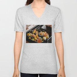 Blackbean and Corn Salad Unisex V-Neck
