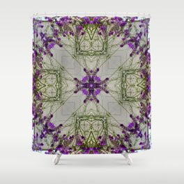 The Finer Side Of Purple Shower Curtain