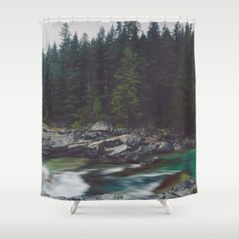 Timeless Waters Shower Curtain