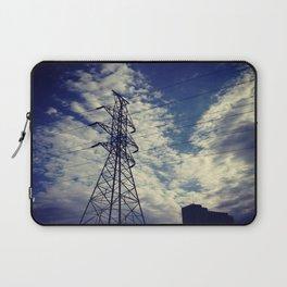 Heavenly spring sky in an industrial world Laptop Sleeve