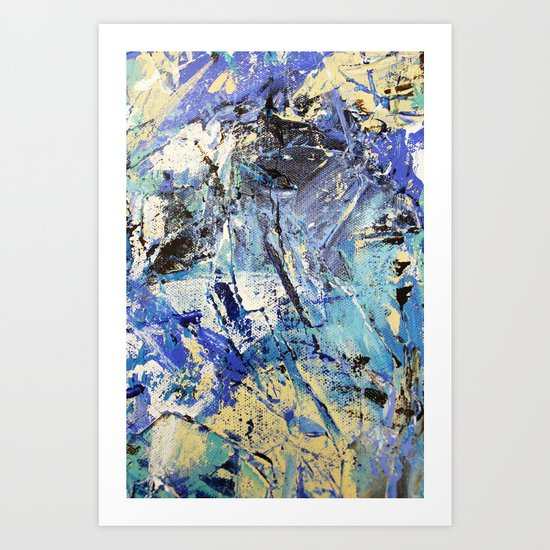 Wasser 8 Art Print