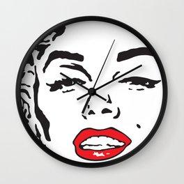 Marilyn 2 Wall Clock