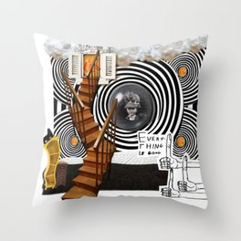 _EVERYTHING IS GOOD Throw Pillow