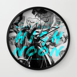 Meet You at High Noon Wall Clock