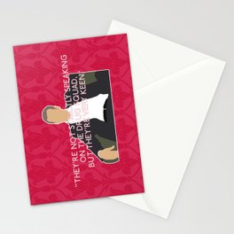 A Study in Pink - Greg Lestrade Stationery Cards