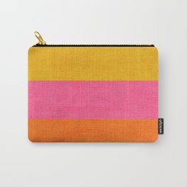 three stripes - summer brights Carry-All Pouch